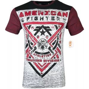 AMERICAN FIGHTER Mens T-Shirt GALESVILLE Athletic